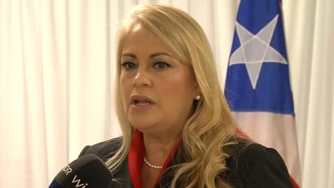 Woman set to replace Puerto Rico's governor doesn't want job