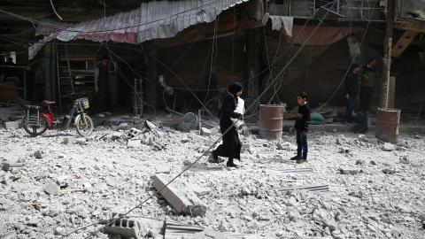 Iran, Qatar broker deal for evacuation of four Syrian towns