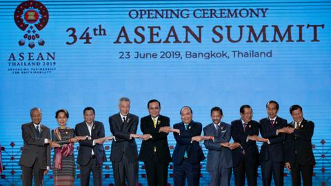 Top diplomats gather in Bangkok for ASEAN summit
