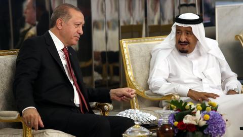 Turkish President Erdogan, Saudi King talk on phone
