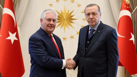 Turkey says US support for YPG in Syria is a