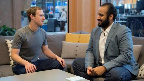 Facebook takes down hundreds of accounts connected to Saudi government