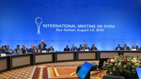 Talks continue on Syrian constitutional committee