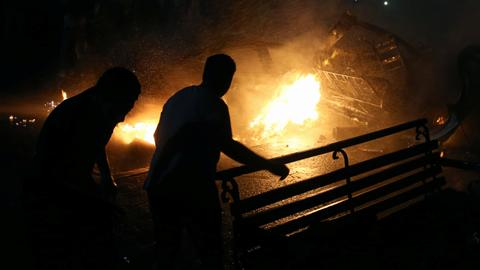 Egypt car crash sparks deadly explosion killing at least 19
