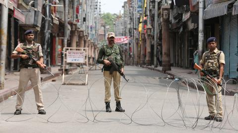 Tensions escalate in Kashmir - The last 24 hours in pictures
