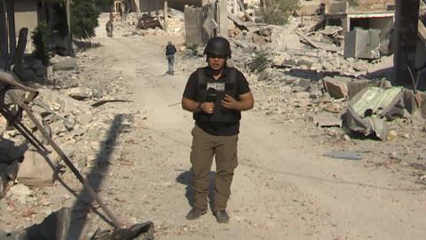 The War in Syria: People return despite massive bombardment