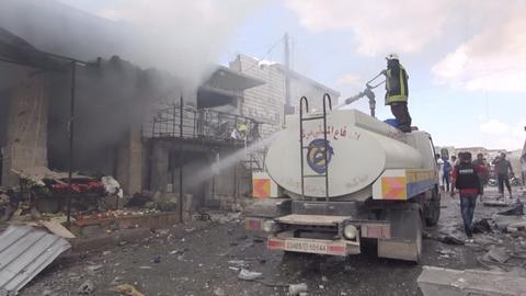 At least 16 killed in Syrian regime attack on Idlib de-escalation zone