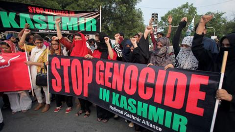 Pakistan seeks UN action as India's strips Kashmir of key rights