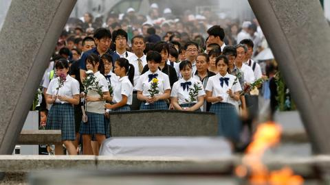 Hiroshima marks 74th anniversary of US atomic bombing
