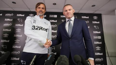 Rooney seals player-coach role at Derby