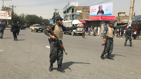 Taliban car bomb wounds at least 34 in Kabul