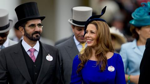 Princess Haya and the royal women trying to flee Dubai