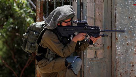 Israeli army kills four Palestinians near Gaza border