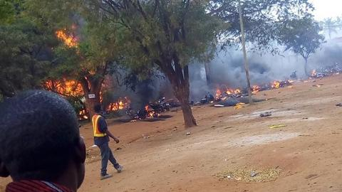 Tanzania tanker blast kills at least 57 people