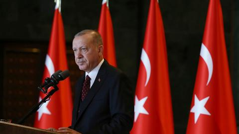 Turkish President Erdogan reiterates vow to fight attacks against Turkey