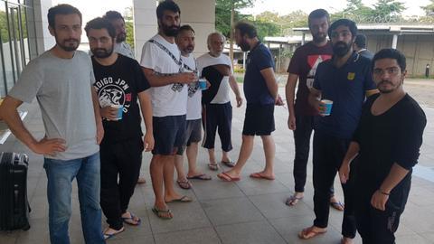 Released Turkish men arrive in Abuja embassy