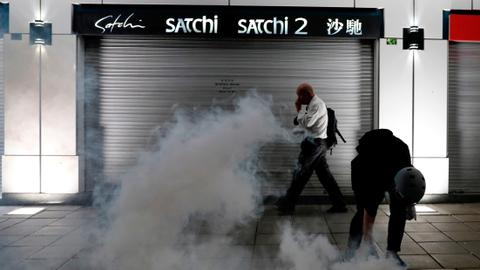 Months of protests rock Hong Kong's economy