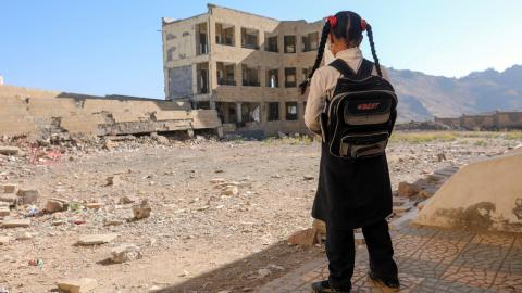 Teachers in Yemen protest over unpaid wages
