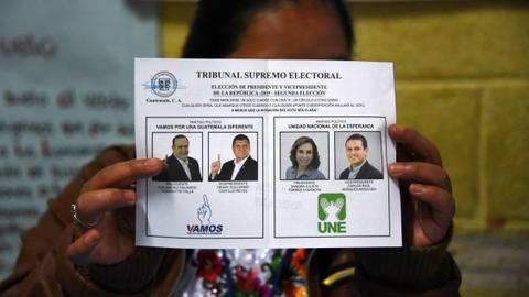 Polls open in Guatemala vote shadowed by US migration deal