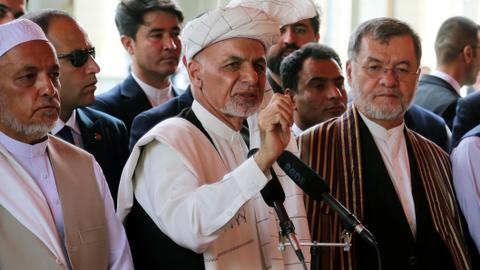 Afghan president Ghani rejects foreign interference as talks advance