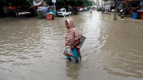 Monsoon rains cause 17 deaths in Pakistan