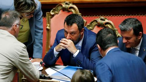 Italy recalls Senate as no-confidence vote looms