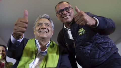 Lenin Moreno claims victory in Ecuador's presidential election