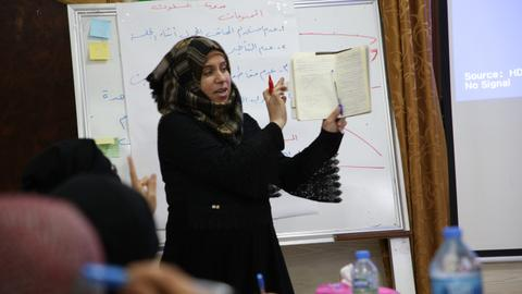 A project in northern Syria aims to empower women