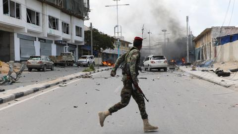Militants attack army base in southern Mogadishu, killing five