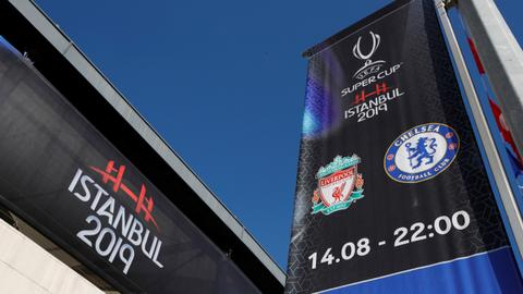Chelsea and Liverpool set to play for UEFA Super Cup in Istanbul