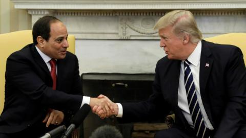 Trump, Sisi revive stalled US-Egypt ties