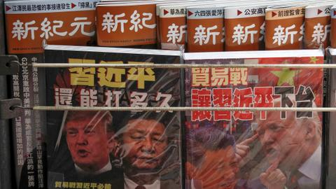 Hong Kong cuts taxes to shore up economy amid protests