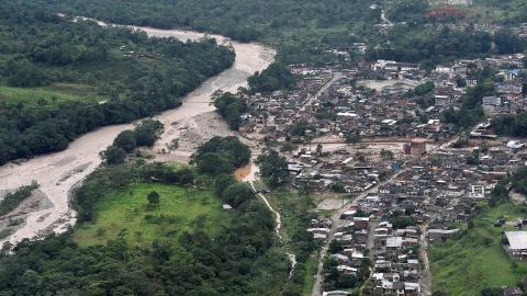 In photos: Colombia mudslides leave trail of death and destruction