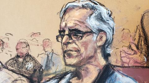 Epstein autopsy shows broken neck bones - US media