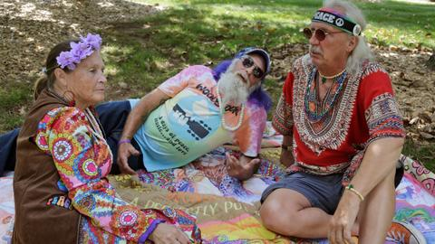 Woodstock fans flock to concert site on 50th anniversary