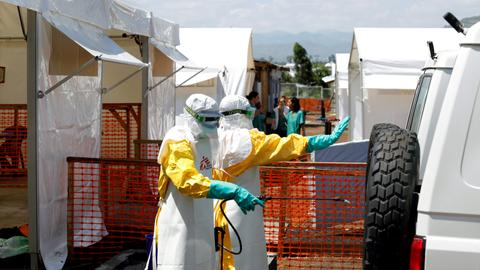 First two Ebola cases confirmed in Congo's South Kivu - officials