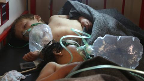 Chemical attack in Idlib draws international condemnation