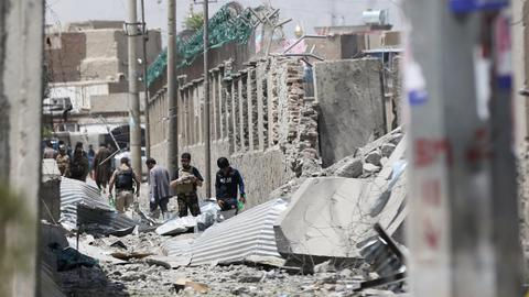 Blast at wedding in Afghan capital wounds at least 20