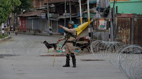 Indian authorities reimpose restrictions in major parts of Srinagar