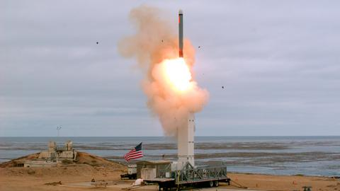 Russia accuses US of stoking arms race with missile test – TASS