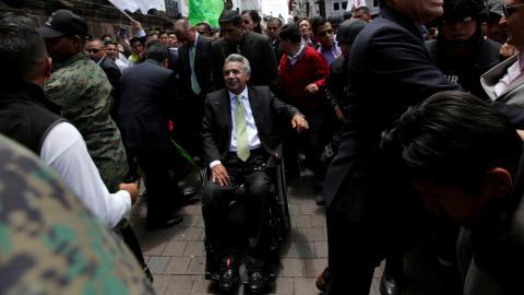 Ecuador's electoral council confirms Moreno's win