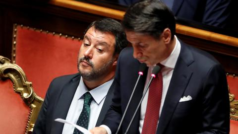 Italy's president accepts Conte's resignation, calls for consultations