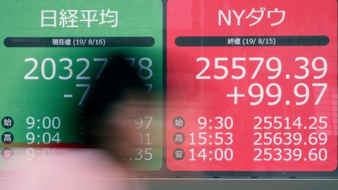 Asian stocks follow Wall Street lower before US Fed release