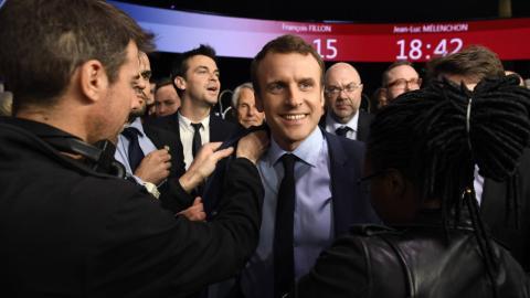 Macron outshines Le Pen in French presidential debate