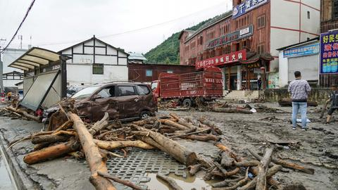 At least nine dead, 35 missing in China mudslides