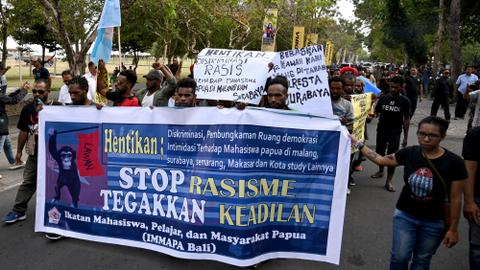 Indonesia blocks internet in Papua in bid to curb protests