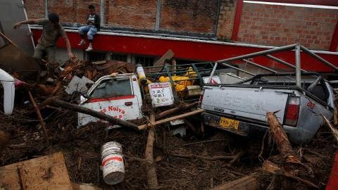 Colombia announces $14M food aid for mudslide-hit towns