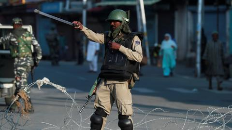 India tightens curbs in Kashmir ahead of protest march to UN office