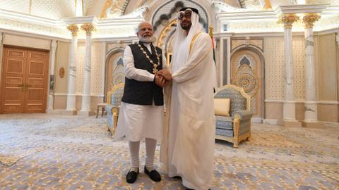 Top Kashmir resistance group slams UAE for Modi award