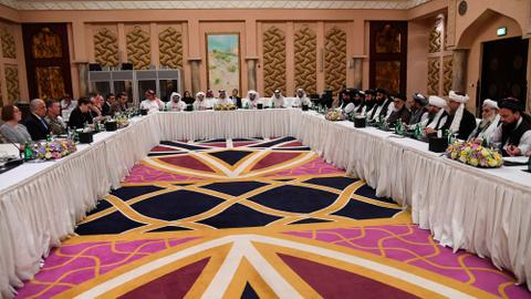 US and Taliban resume push for peace at Doha talks